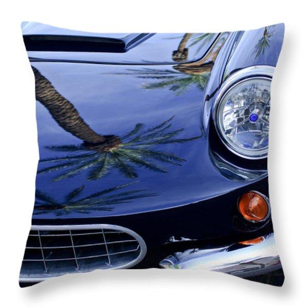 1963 Apollo Front End 2 Throw Pillow by Jill Reger