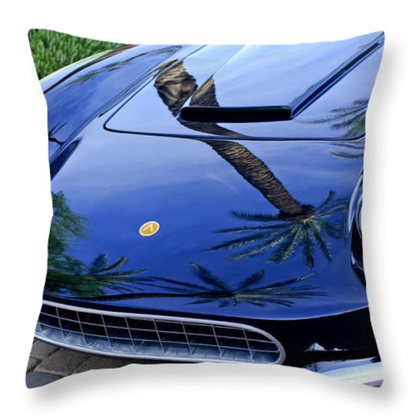1963 Apollo Front End Throw Pillow by Jill Reger