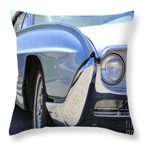 1963 Ford Thunderbird Limited Edition Landau Throw Pillow by Al Bourassa