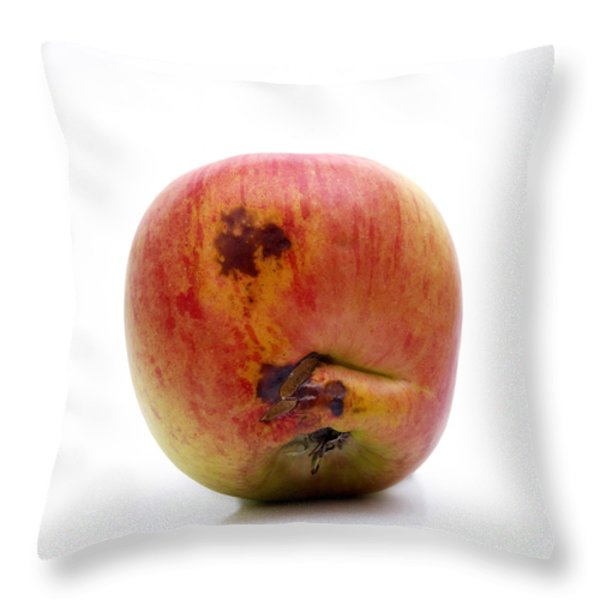 Apple Throw Pillow by BERNARD JAUBERT