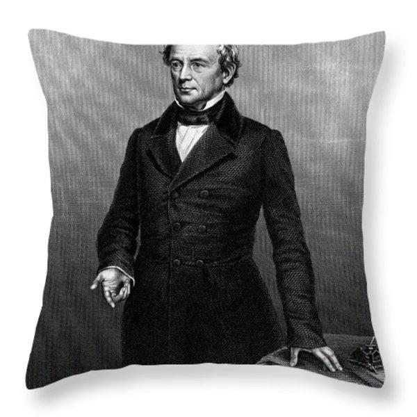 Edward Everett (1794-1865) Throw Pillow by Granger