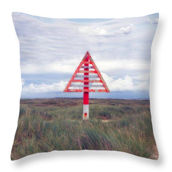 elbow - Sylt Throw Pillow by Joana Kruse