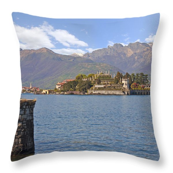 Isola Bella Throw Pillow by Joana Kruse