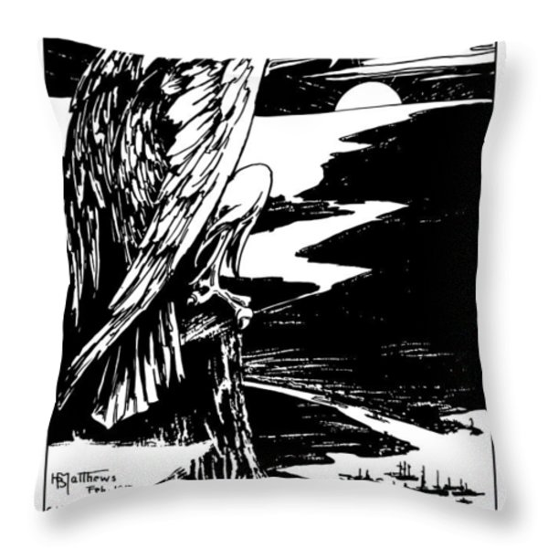 Join The Navy Throw Pillow by War Is Hell Store