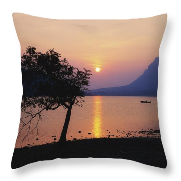 Lough Gill, Co Sligo, Ireland Irish Throw Pillow by The Irish Image Collection