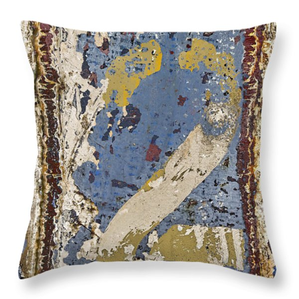 2 Squared 2 Throw Pillow by Carol Leigh