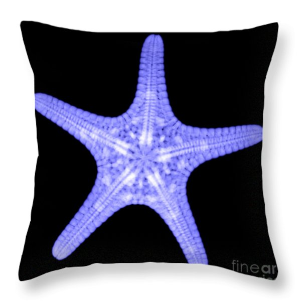 Starfish Throw Pillow by Ted Kinsman