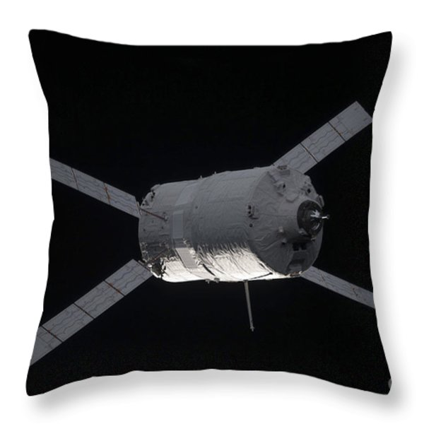 The Edoardo Amaldi Automated Transfer Throw Pillow by Stocktrek Images