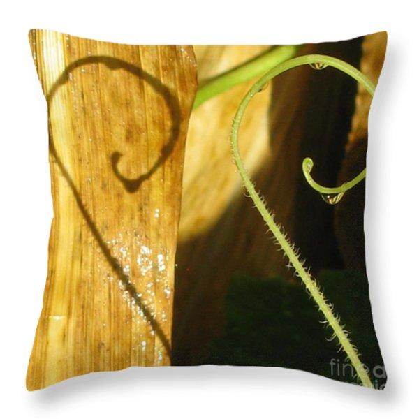 Unmistaken Throw Pillow by Tina Marie
