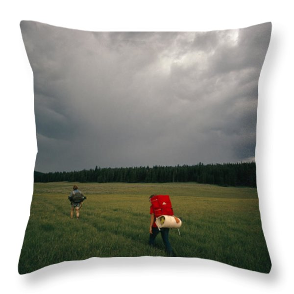 Untitled Throw Pillow by Sam Abell