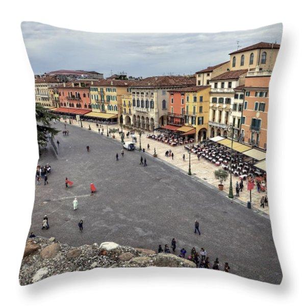 Verona Throw Pillow by Joana Kruse