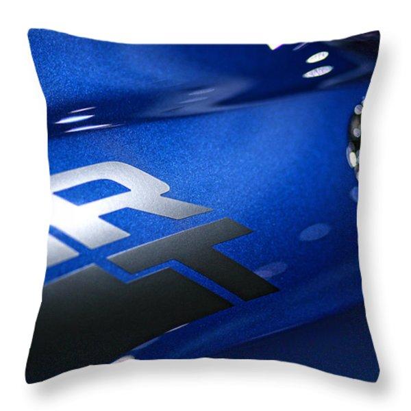 2012 Dodge Challenger Rt Throw Pillow by Gordon Dean II
