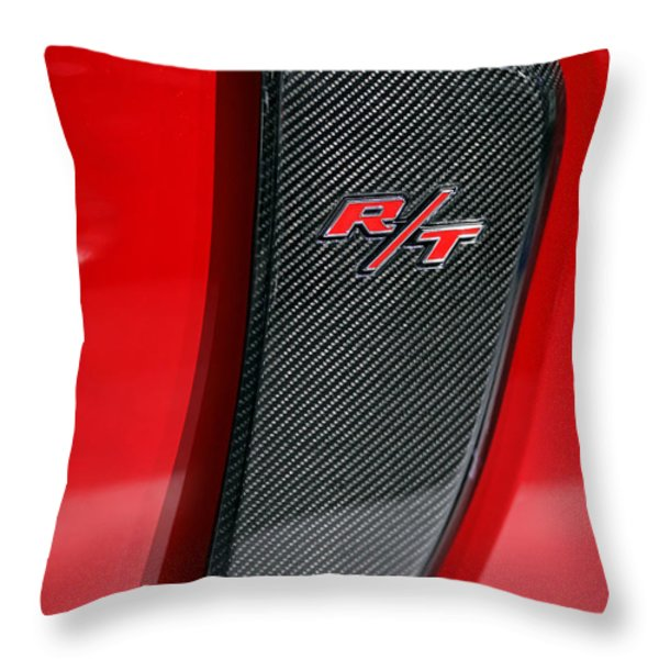 2012 Dodge Charger Rt  Throw Pillow by Gordon Dean II