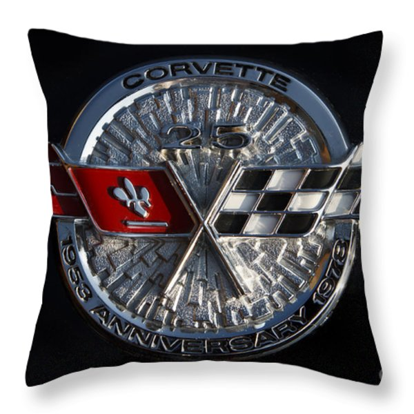 25th Anniversary Throw Pillow by Dennis Hedberg