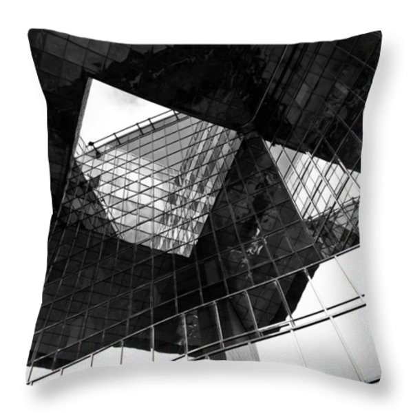 London Southbank Abstract Throw Pillow by David Pyatt