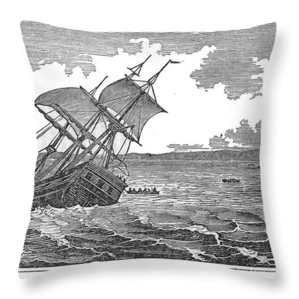 Pitcairn Island Throw Pillow by Granger