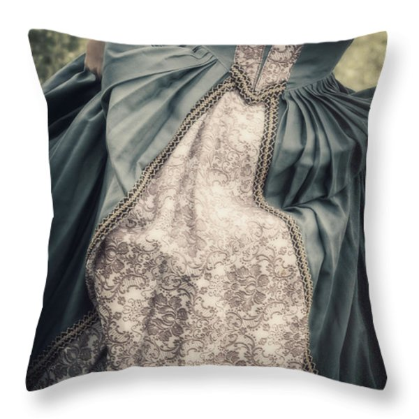 renaissance princess Throw Pillow by Joana Kruse