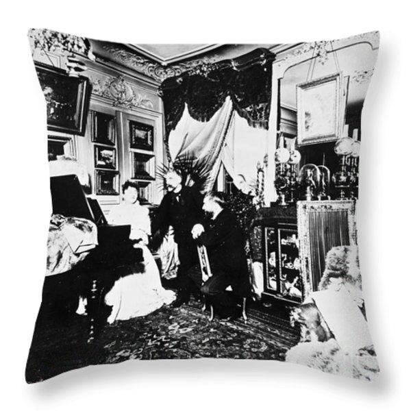 Stephane Mallarme Throw Pillow by Granger
