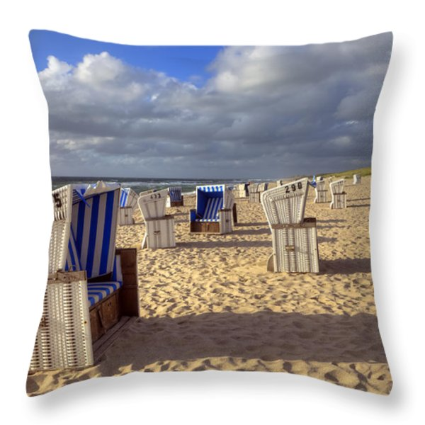 Sylt Throw Pillow by Joana Kruse