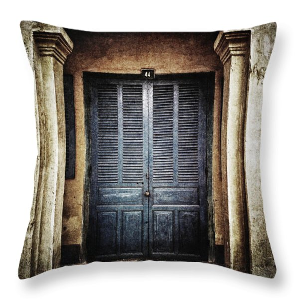 44 Throw Pillow by Skip Nall