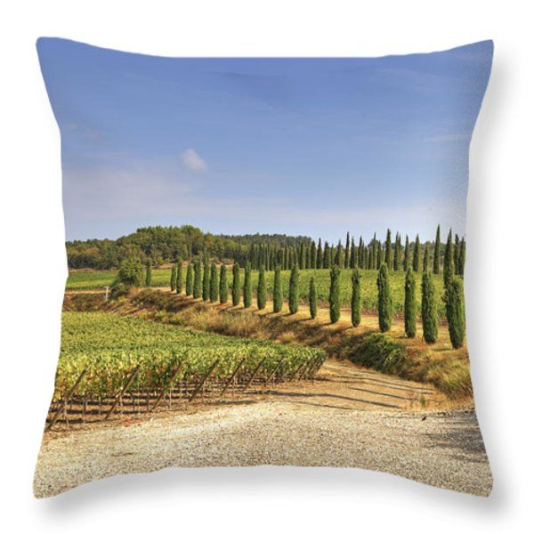 Tuscany Throw Pillow by Joana Kruse