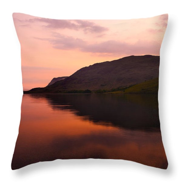 Sunset Throw Pillow by Svetlana Sewell