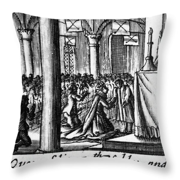 Spanish Armada, 1588 Throw Pillow by Granger