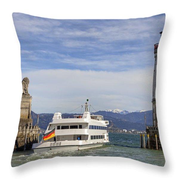 Lindau Throw Pillow by Joana Kruse