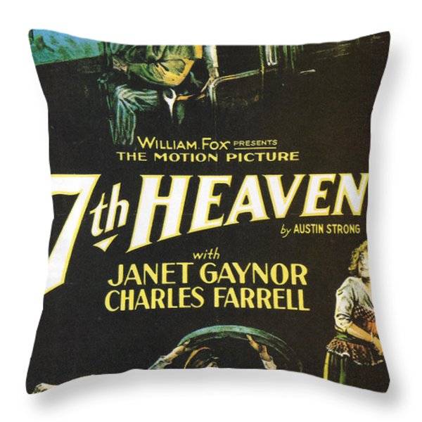 7th Heaven Throw Pillow by Nomad Art And  Design