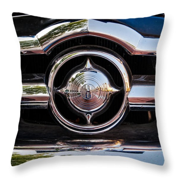 8 In Chrome Throw Pillow by Christopher Holmes