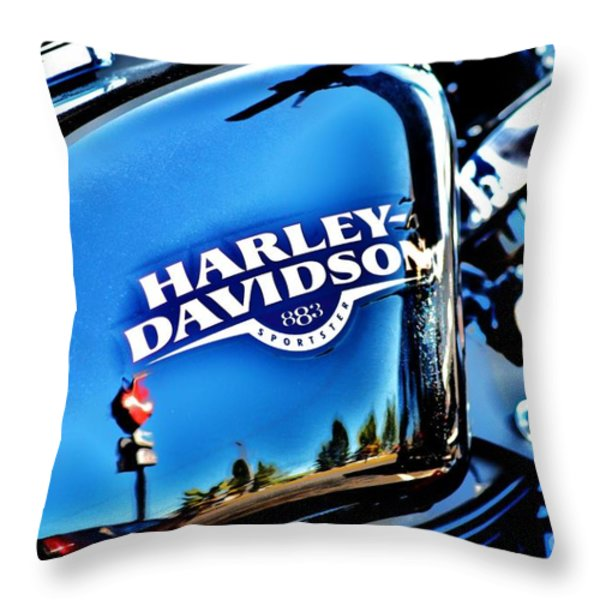 883 Throw Pillow by Frank Larkin