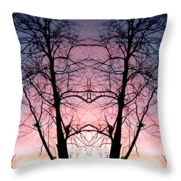 A Gift Throw Pillow by Amy Sorrell