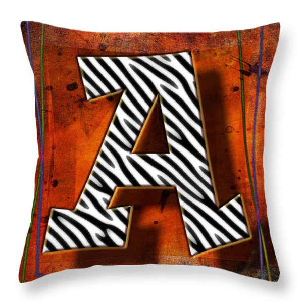 A Throw Pillow by Mauro Celotti