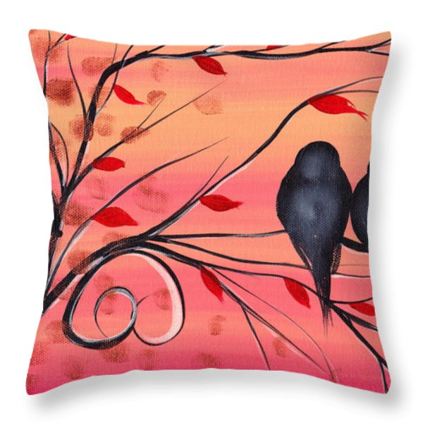 A morning with you Throw Pillow by  Abril Andrade Griffith