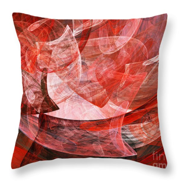 A Mothers Womb . A120422.446 Throw Pillow by Wingsdomain Art and Photography