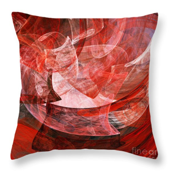 A Mothers Womb . Square . A120422.446 Throw Pillow by Wingsdomain Art and Photography