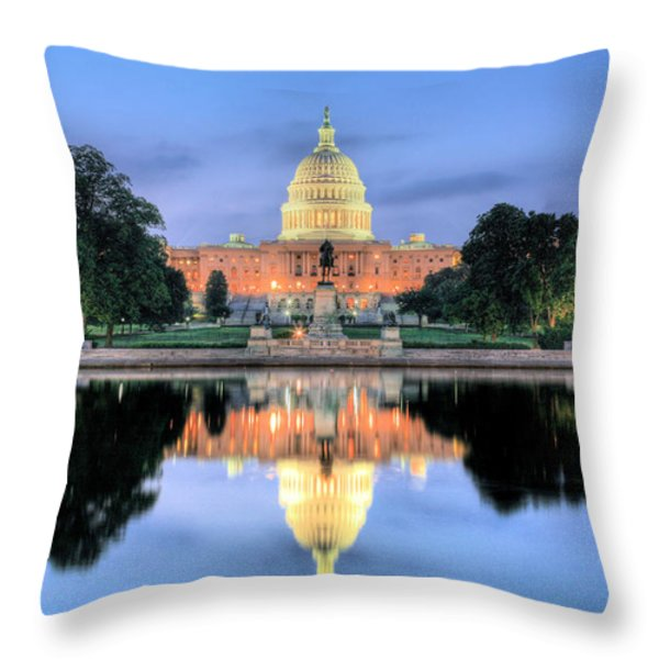 A Nation Awakens Throw Pillow by JC Findley
