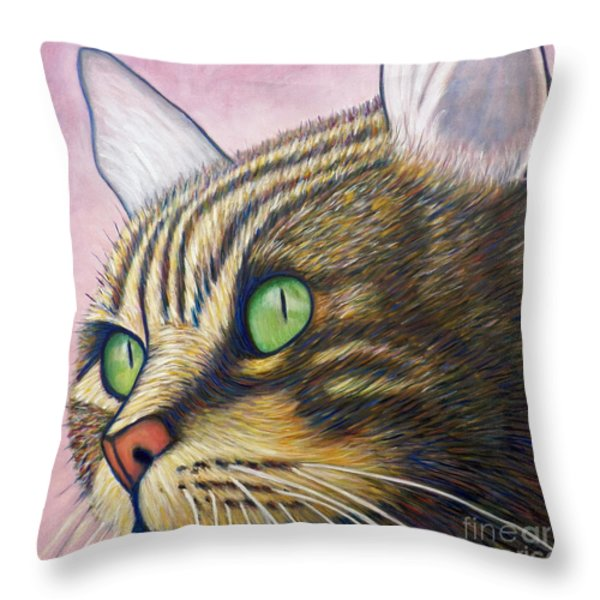 A New Day Throw Pillow by Brian  Commerford