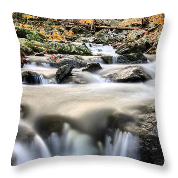 A Rocky Road Throw Pillow by JC Findley