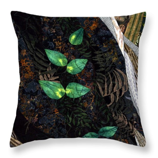 A Safe Haven Throw Pillow by Linda Beach