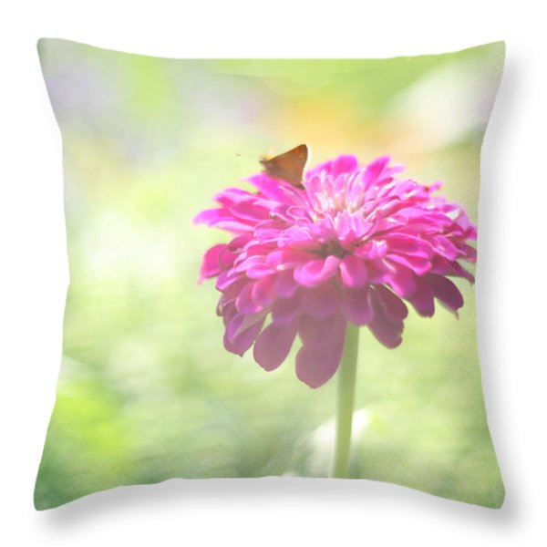 A Summer's Song Throw Pillow by Amy Tyler