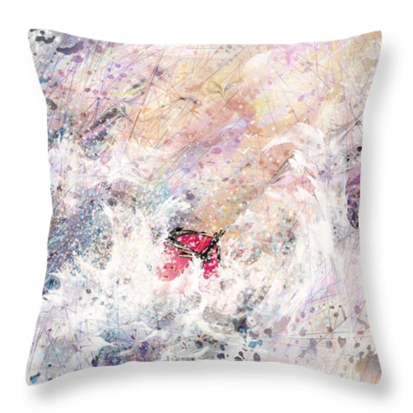 a Trial Throw Pillow by Rachel Christine Nowicki