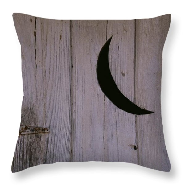 A Universal Symbol For Outdoor Plumbing Throw Pillow by Stephen St. John