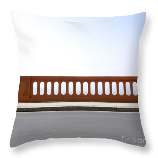 Absence Throw Pillow by Bernard Jaubert