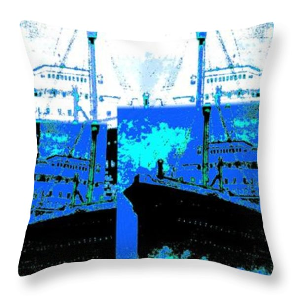 Abstract Fusion 21 Throw Pillow by Will Borden