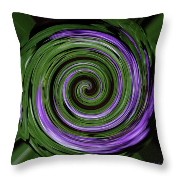 Abstract I Throw Pillow by DigiArt Diaries by Vicky B Fuller