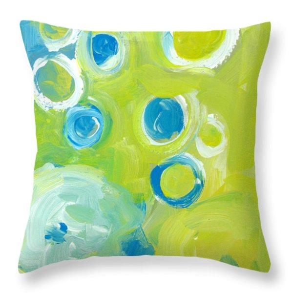 Abstract IIII Throw Pillow by Patricia Awapara