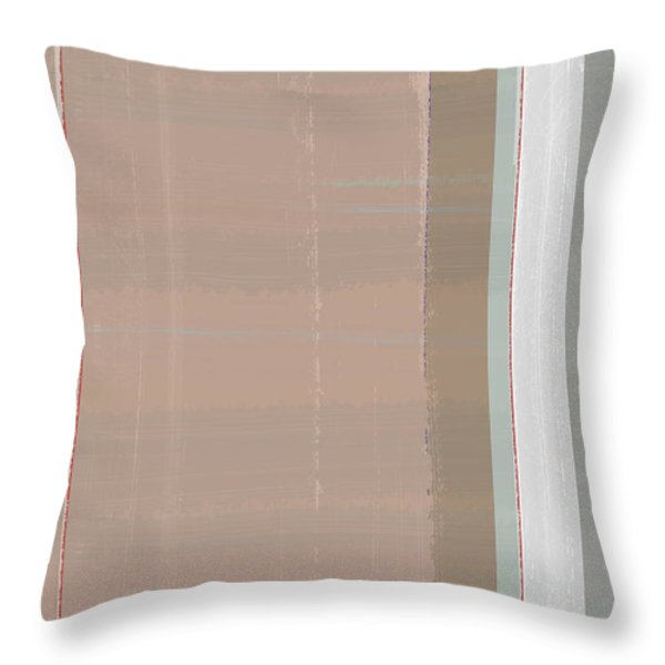 Abstract Light 1 Throw Pillow by Naxart Studio