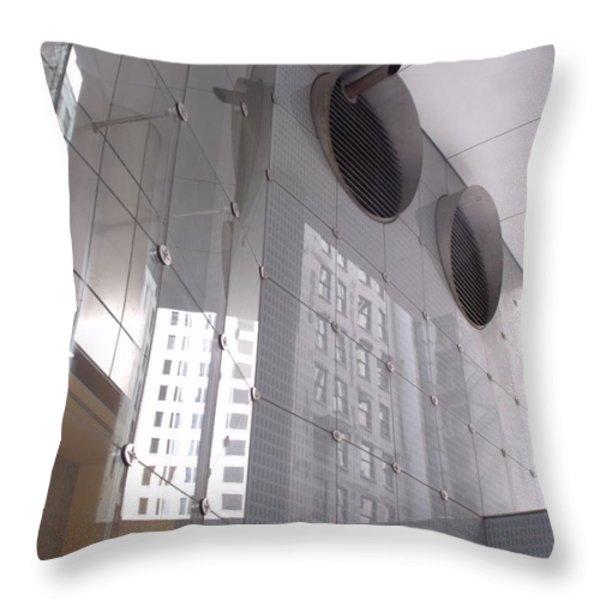 Abstractions IIi Throw Pillow by Anna Villarreal Garbis