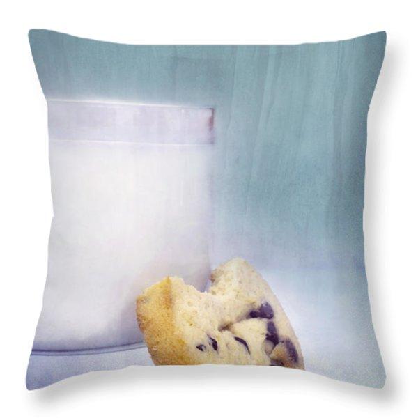 after school snack Throw Pillow by Priska Wettstein